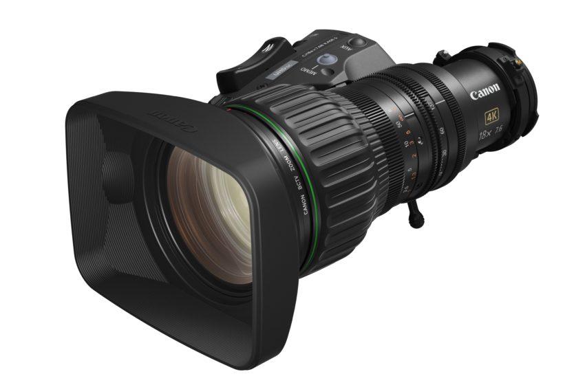 Canon lanceert de CJ18ex7.6B KASE – de perfecte, compacte lens voor studioproducties
