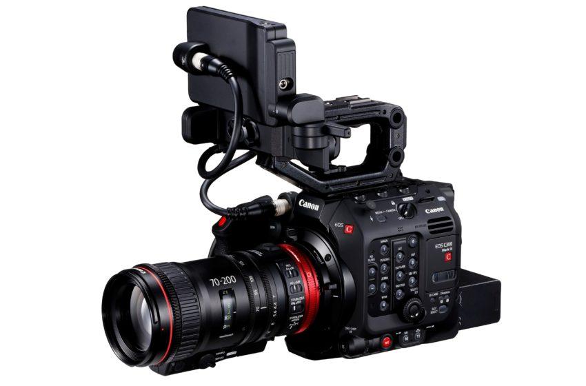 Canon vergroot haar cinema-aanbod met de EOS C300 Mark III