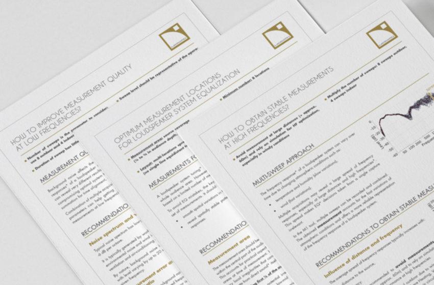 L- Acoustics publiceert nieuwe white papers