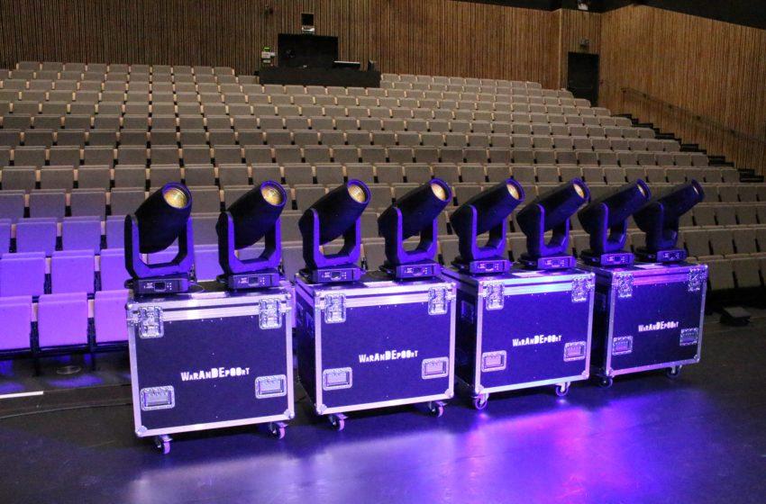 Nieuwe armaturen voor het Belgische CC de Warandepoort Theater