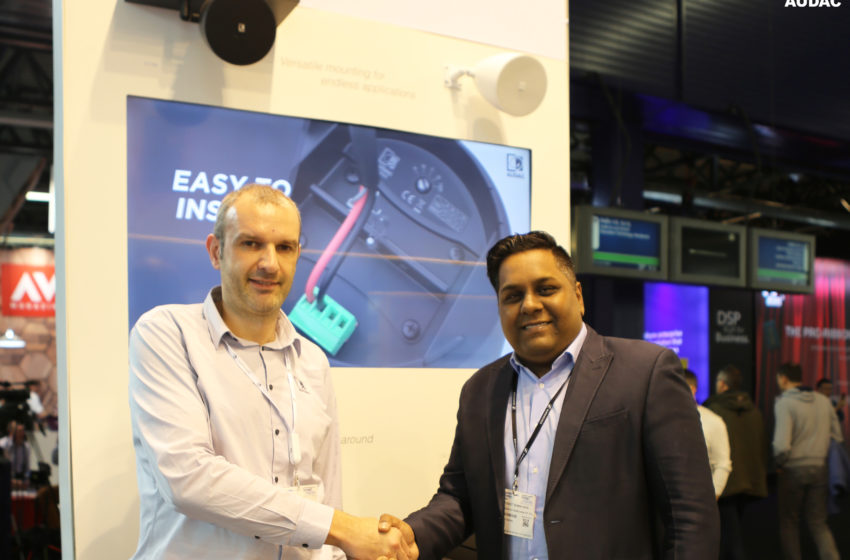 Sennheiser is exclusieve AUDAC-distributeur in India