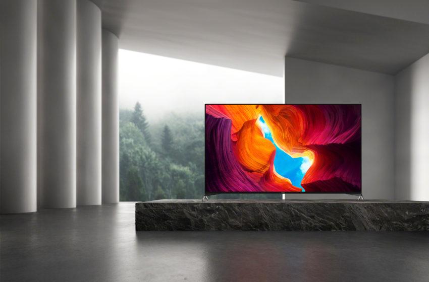 Sony's vlaggenschip XH95 4K HDR Full Array LED-tv is nu verkrijgbaar