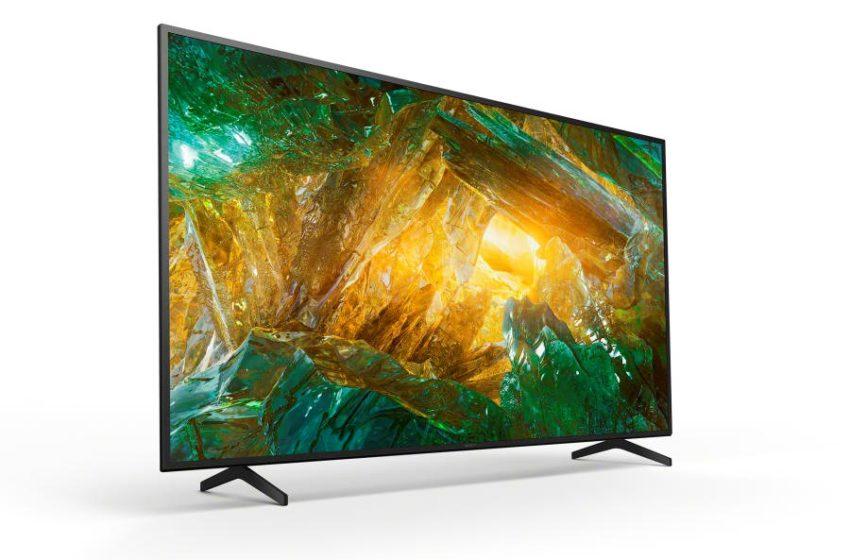 Sony's XH81, XH80 en X70 4K HDR LCD-tv's beschikbaar