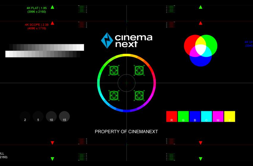 CinemaNext stelt zijn test-DCP-pakket beschikbaar voor bioscopen in heel Europa