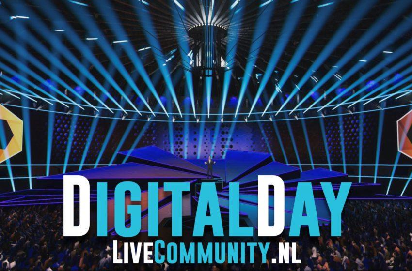 DigitalDay: hybride ontmoetingsplaats voor de evenementenmarkt