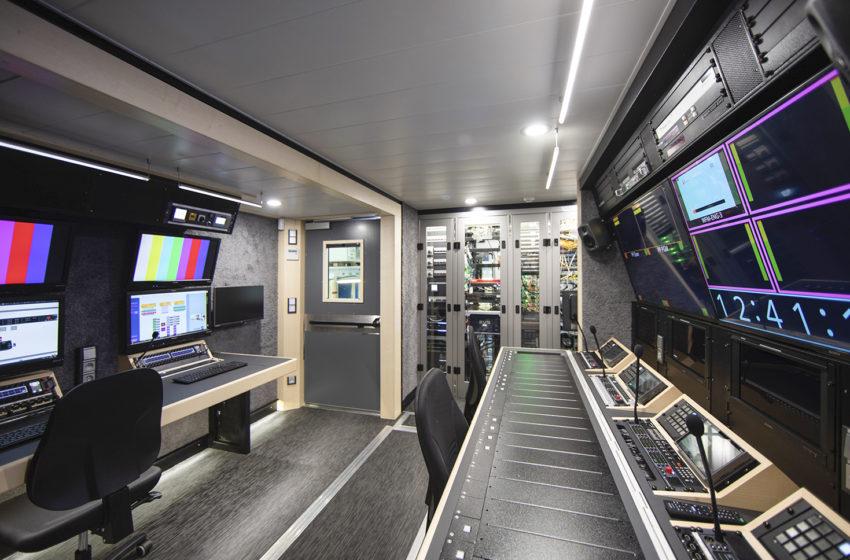 IP OB-vrachtwagens luiden een nieuw tijdperk in voor de Belgische RTBF