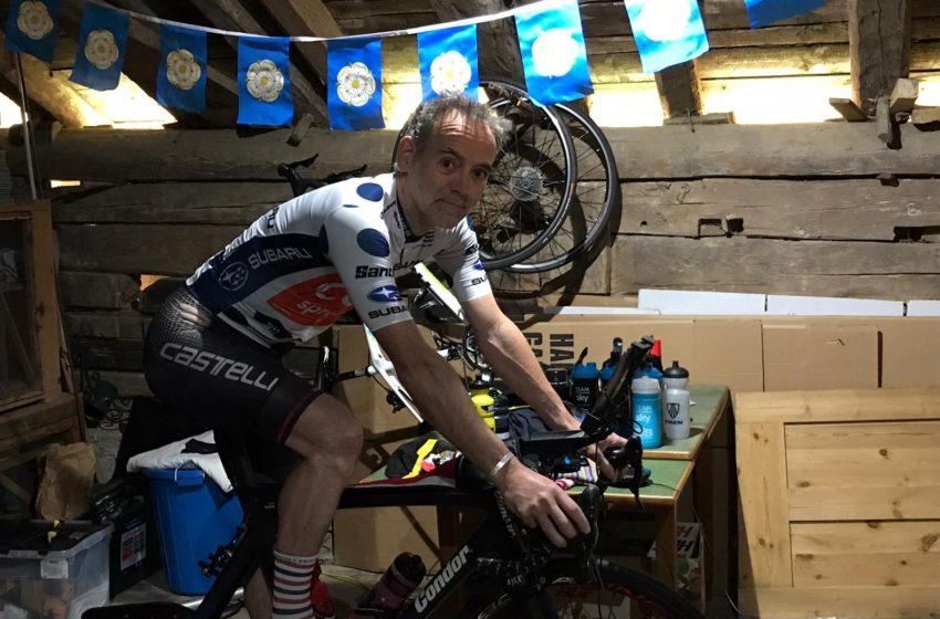 Medewerker L-Acoustics fietst virtueel 2000 kilometer om geld in te zamelen voor Corona