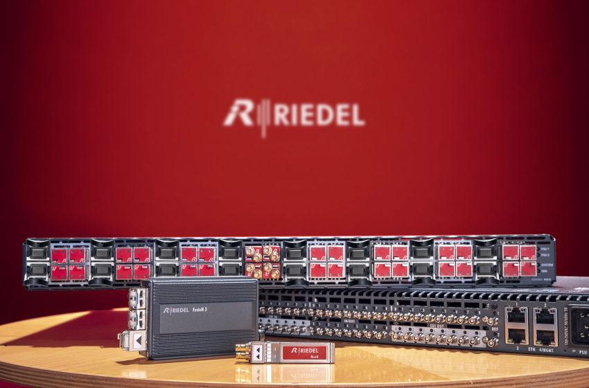 Riedel breidt portfolio van video-oplossingen uit