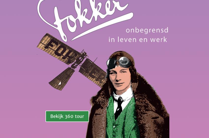 Online expositie 'Fokker' bij Huis Doorn biedt vele extra's