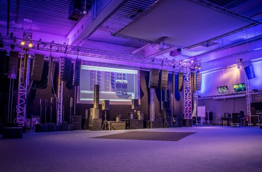 Showroom van dBTechnologies en RCF weer open