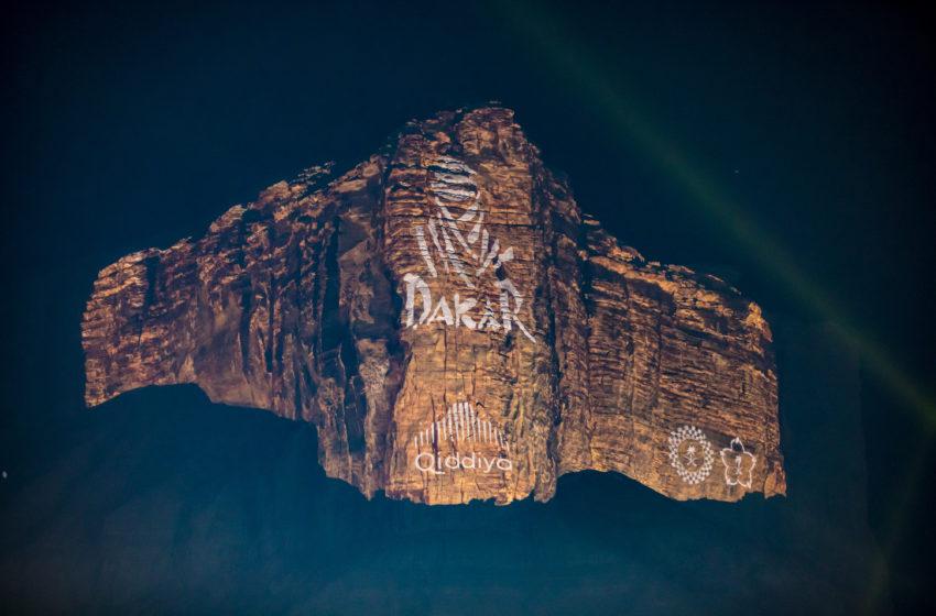 Een adembenemende finale van Dakar 2020 in Qiddiya met Barco-projectoren