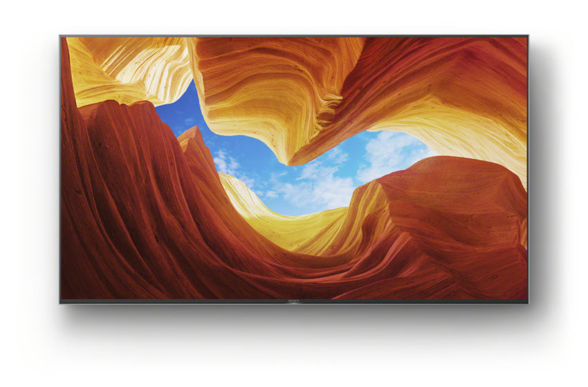 Sony's 'future-proof' XH90 4K HDR Full Array LED-tv vanaf nu verkrijgbaar
