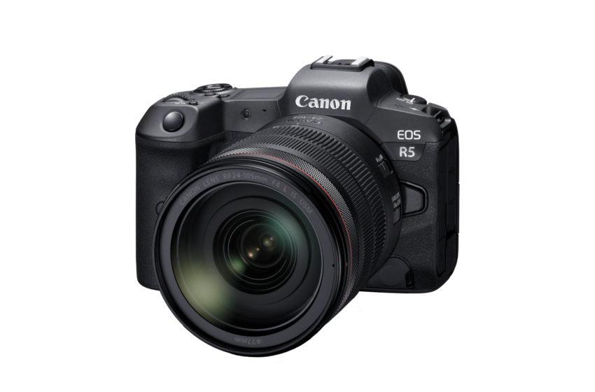 Canon kondigt de introductie aan van de EOS R5 en EOS R6