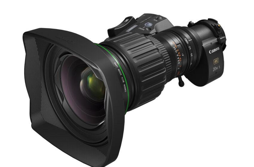 Canon vergroot haar portfolio 4K-broadcastlenzen met een flexibele hybride BCTV-zoomlens:  de CJ20ex5B