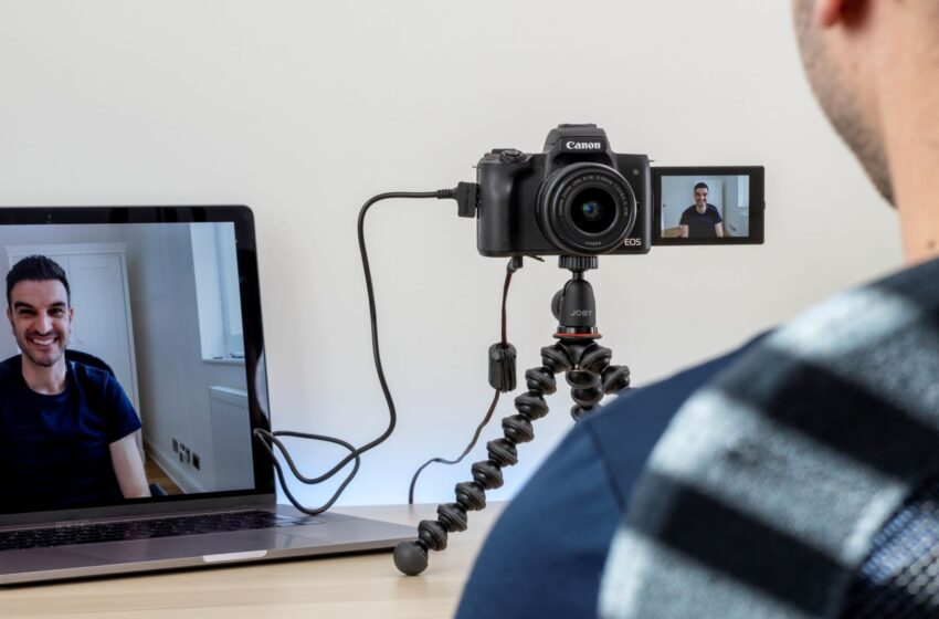 Verander je Canon-camera in een hoogwaardige webcam met de EOS Webcam Utility-software
