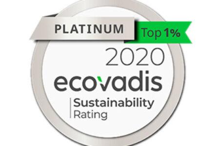 Epson behaalt EcoVadis platinastatus voor duurzaamheid
