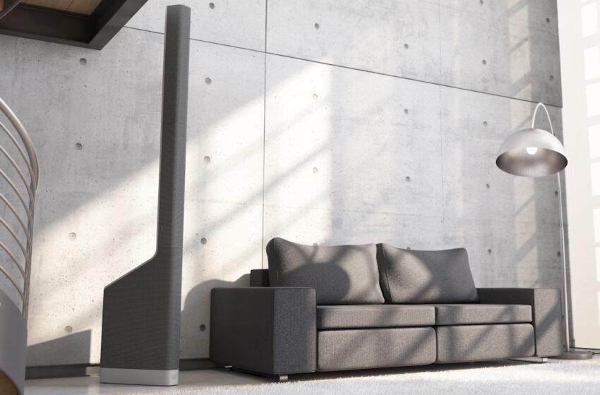 LD Systems MAUI P900 is een actieve kolom PA van Porsche Design Studio