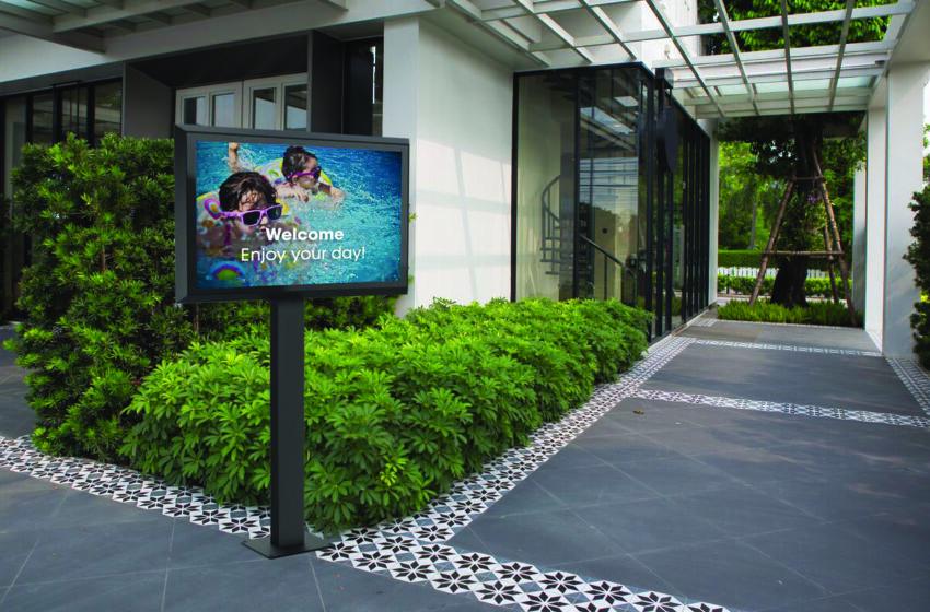 Outdoor montageoplossingen voor LG displays XE4F-serie
