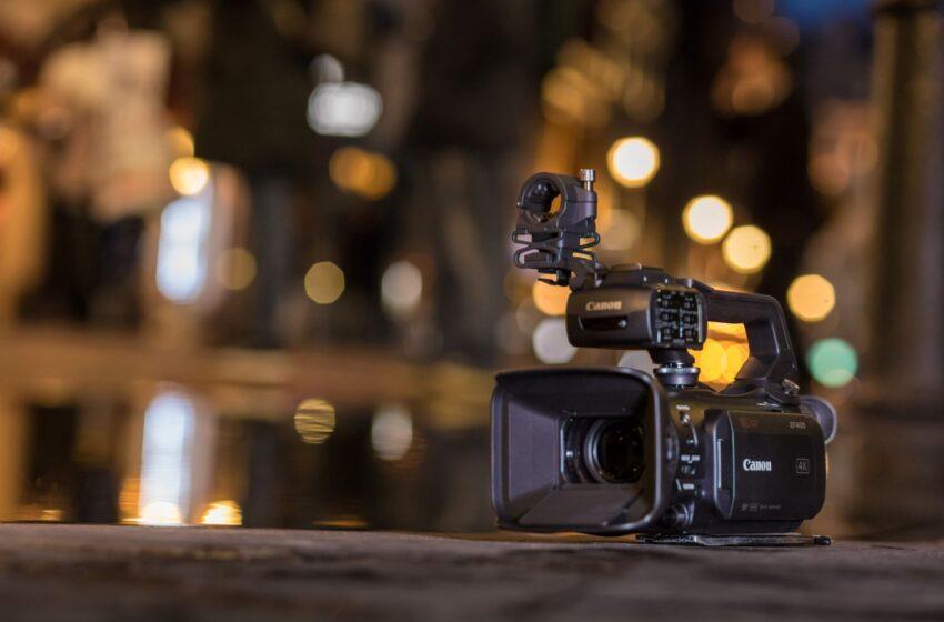 Firmware-update voor geselecteerde Canon-videocamera's – verbeteringen en nieuwe functies zoals opnameformats