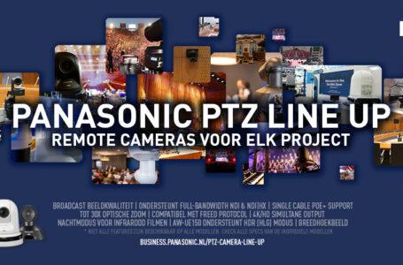 Panasonic versterkt leiderspositie in PTZ-cameramarkt
