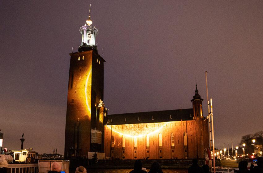 Panasonic verzorgt spectaculaire projectie voor Nobelprijswinnaars in Stockholm