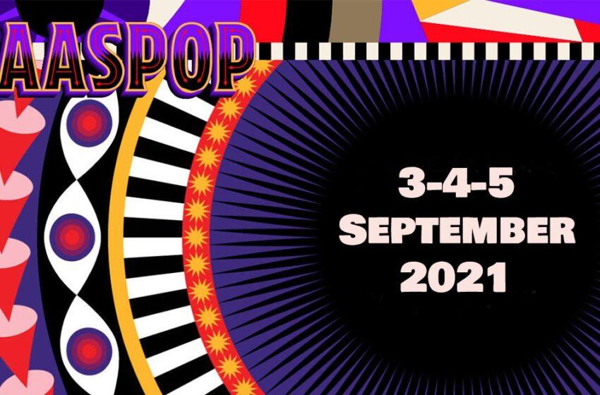 Paaspop sluit zomer af met eenmalige septembereditie op 3, 4 & 5 september 2021