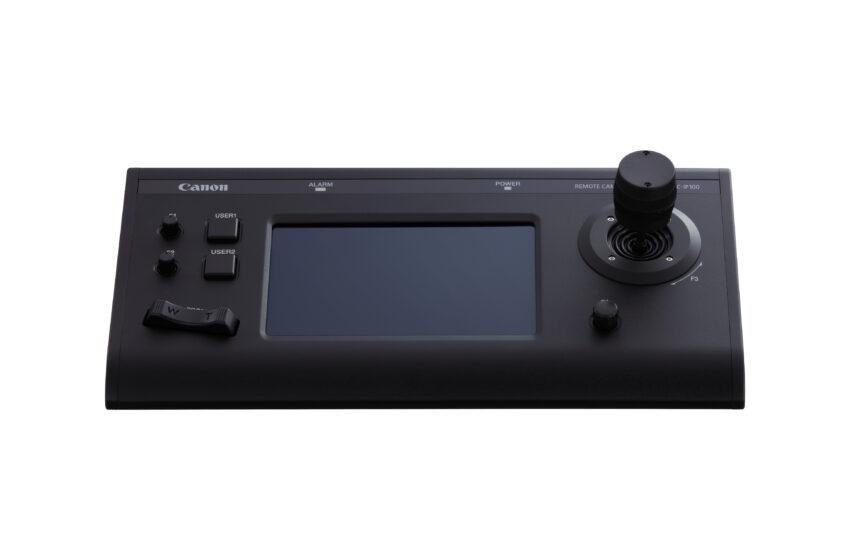 Canon komt tegemoet aan groeiende vraag naar remote en live productie met vier nieuwe RCS (Remote Camera System)-producten