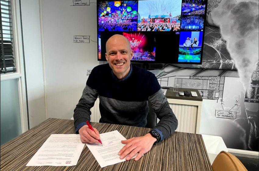 Jurgen Hoekstra nieuwe salesmanager bij Unlimited Productions