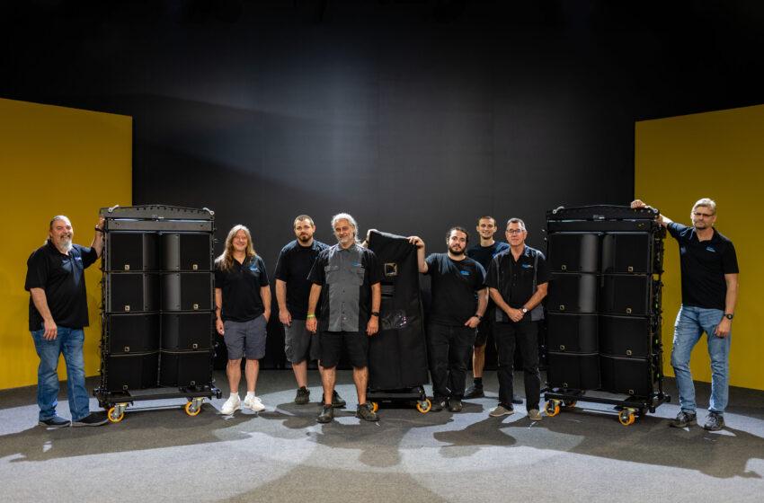 ESI Productions neemt het eerste L-Acoustics K3-systeem van Noord-Amerika in ontvangst
