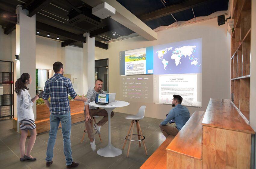 Epson lanceert nieuwe draadloze presentatiesystemen voor verbeterde samenwerking zonder vertragingen in de connectiviteit
