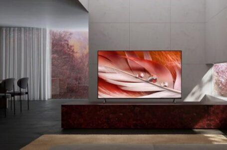 Sony BRAVIA X90J LED tv's vanaf nu beschikbaar in de Benelux