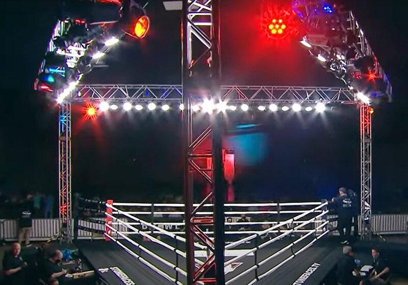 Elation IP-rated rig hoogtepunten BYB Extreme Fighting Series