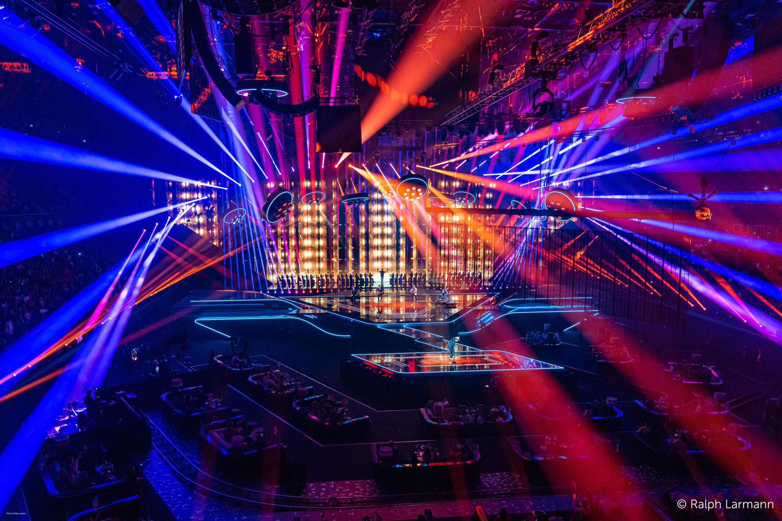 Faber kiest voor Barco Eventmaster platform op Songfestival 2021