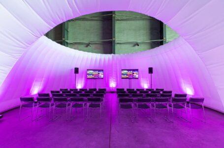 Nieuw opblaasbaar concept creëert meer flexibiliteit bij het organiseren van evenementen