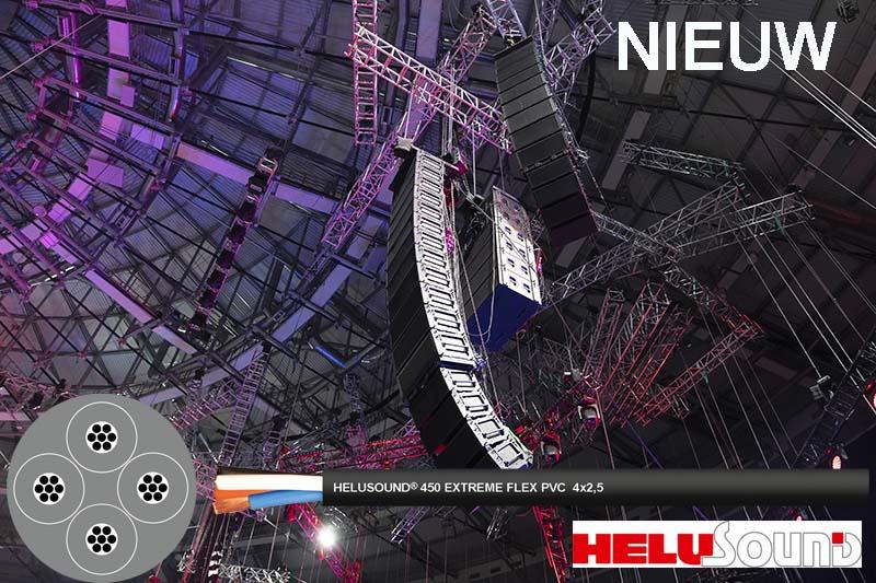 HELUKABEL introduceert nieuwe audiokabel HELUSOUND® 450