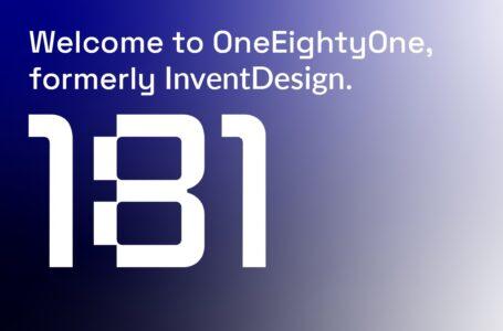 OneEightyOne, nieuwe naam voor InventDesign