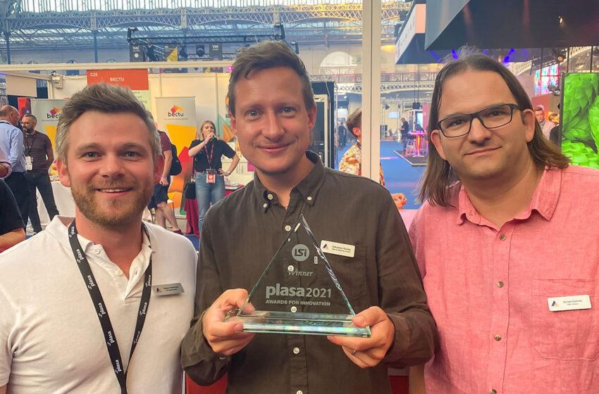 Astera's PixelBrick wint een PLASA Award for Innovation 2021
