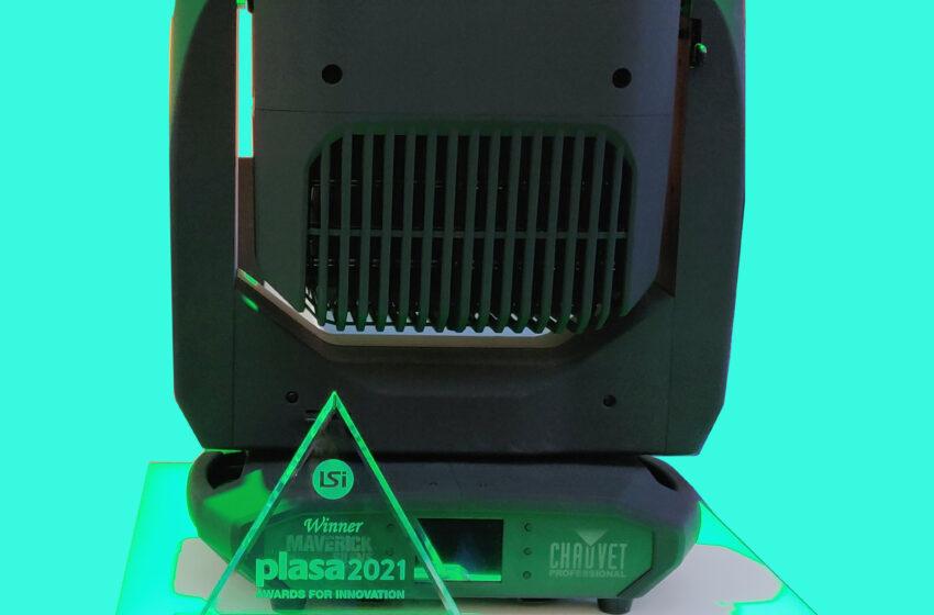 Maverick Silens 2-profiel wint PLASA 2021 Award voor innovatie