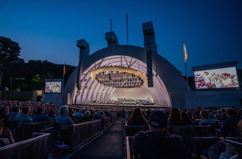 Artiste Monet™ creëert zomerse herinneringen in de iconische Hollywood Bowl