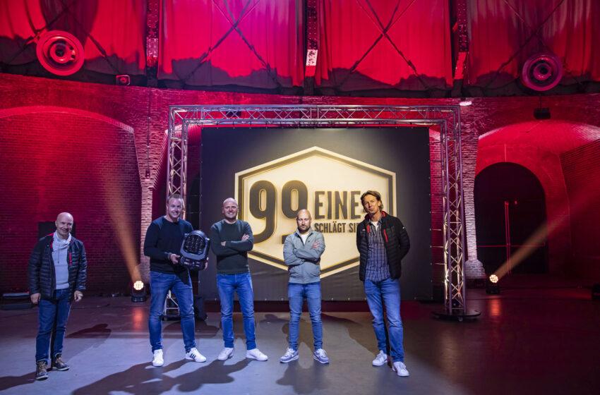 De gloednieuwe LEDBeam 350's spelen hoofdrol in Duitse spelshow