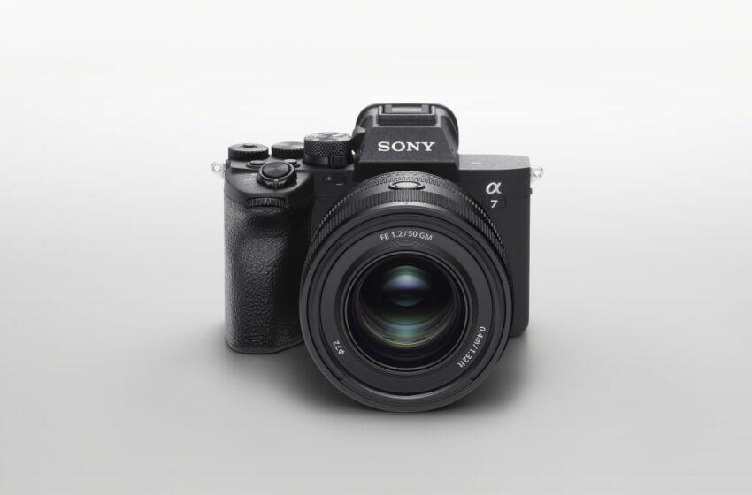 Sony zet de toon voor foto en video met 33-megapixel α7 IV full-frame camera
