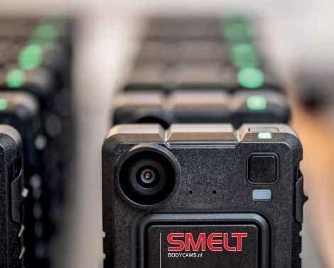 SMELT volwaardig leverancier van professionele bodycams